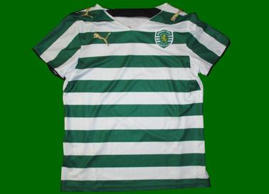 Protótipo da Puma - camisola de teste feita para o Sporting em 2006/07