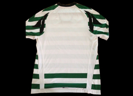 Sporting Lisbon shirt 2007 2008. Sample, prototype with the back in white and not green as in the version adopted