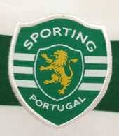 Sporting Lisbon top 2007 2008. Sample, prototype with the back in white and not green as in the version adopted