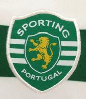 camisola do Sporting 2007 2008. Sample, camisola protótipo com as costas em branco e não em verde