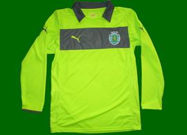 2012/2013. Camisola de guarda-redes verde, sample