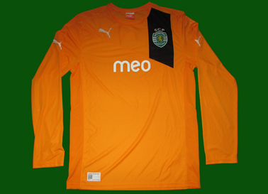 2012/13, camisola alternativa do Sporting, protótipo da Puma