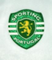 Equipamento alternativo do Sporting sem publicidade, de mangas compridas 2008/09