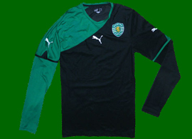 Sporting Lisbon 2010711Long sleeved away top, sample