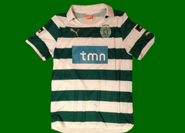 Sporting Lisbon Prototype jersey 2011/12 made by Puma