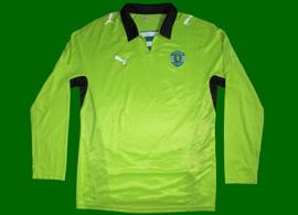Sample da Puma de teste para camisola alternativa do Sporting, nunca produzido, 2008 2009