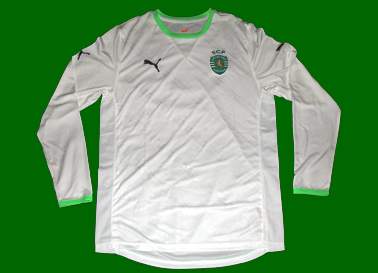 2011/12, white away soccer jersey