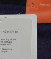 Camisola de teste roxa, sample da Puma nunca produzido, em violeta