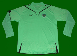 Terceira camisola verde do Sporting 2009/10