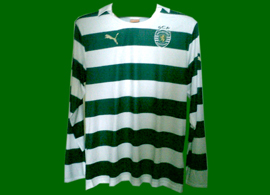 Puma sample 2011 12 Sporting jersey long sleeves no sponsor