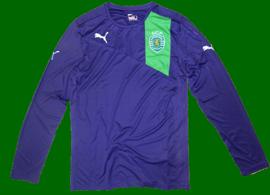 2012/2013. Long sleeved purple shirt, rejected sample