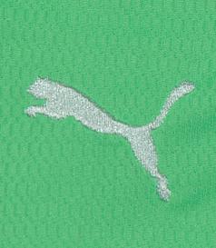 2009/2010. Camisola alternativa de criança, sample da Puma, com o Puma em branco e frase do Visconde de Alvalade, mangas compridas