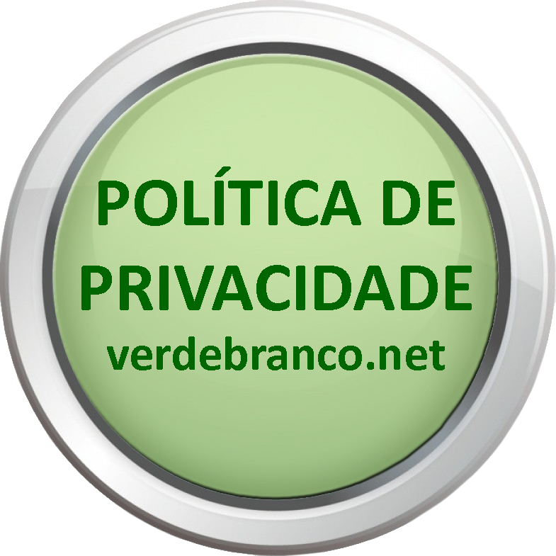 Política de privacidade do verdebranco.net