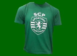 t-shirt de três euros do Sporting-Braga verde Godinho Lopes