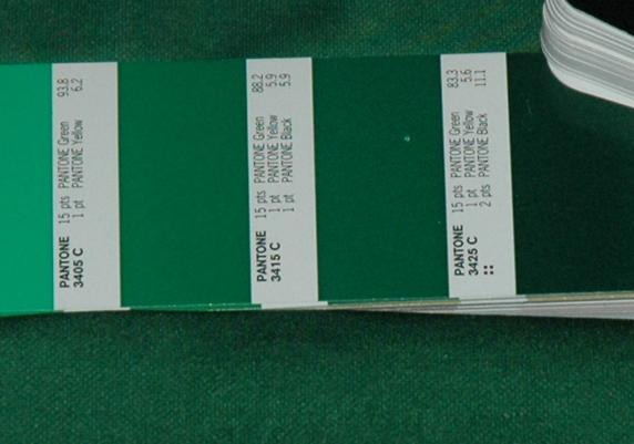 verde Sporting 2001 02 Pantone 3425c